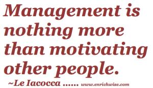 Management-motivating